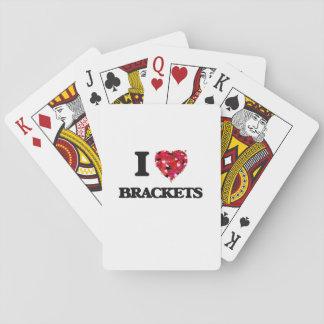 I Love Brackets Poker Cards