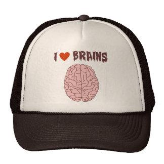I Love Brains Cap