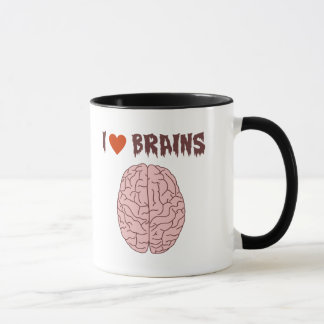 I Love Brains Mug