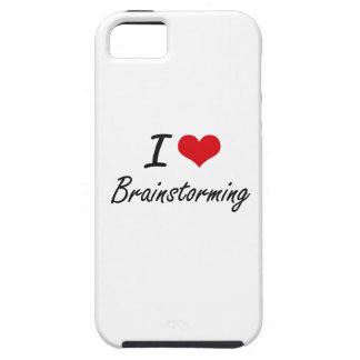 I Love Brainstorming Artistic Design iPhone 5 Cases