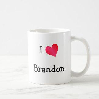 I Love Brandon Coffee Mug