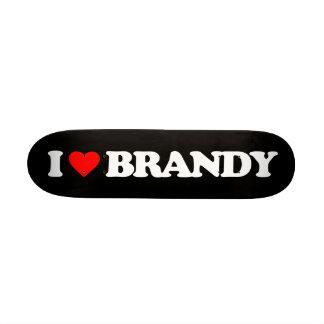 I LOVE BRANDY SKATE DECKS