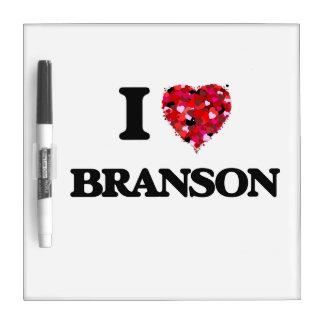 I Love Branson Dry-Erase Whiteboard