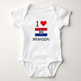 I Love Branson Missouri Baby Bodysuit