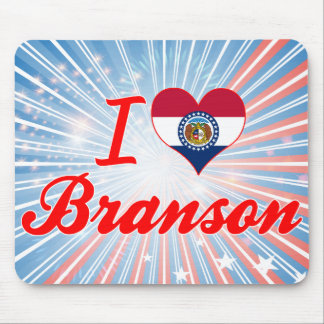 I Love Branson, Missouri Mousepads
