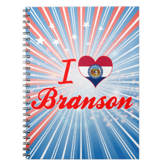I Love Branson, Missouri Journals