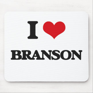 I Love Branson Mouse Pad