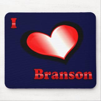 I Love Branson Mousepad- choose color