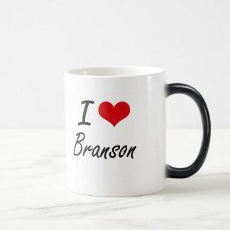 I Love Branson Morphing Mug