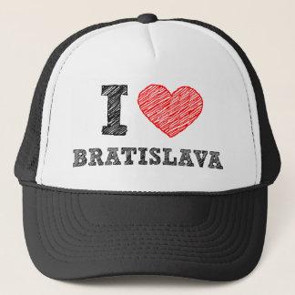 I love Bratislava Trucker Hat