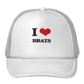 I Love Brats Trucker Hat