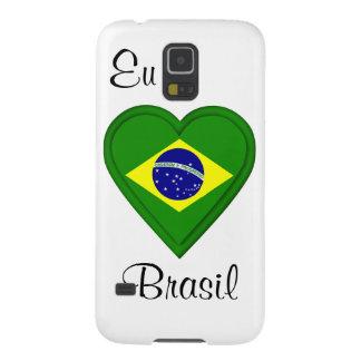 I love Brazil - Eu amo Brasil - in Portugese Samsung Galaxy Nexus Case