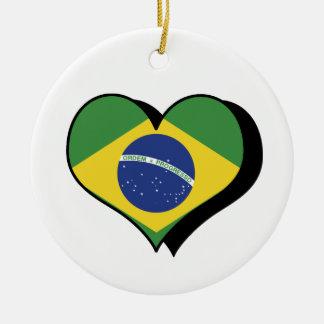 I Love Brazil Ornament
