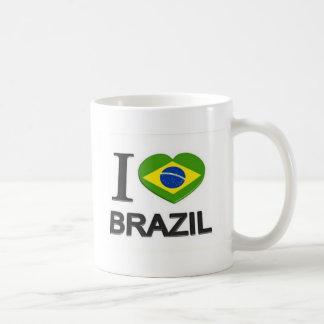 I Love Brazil stuff Coffee Mug