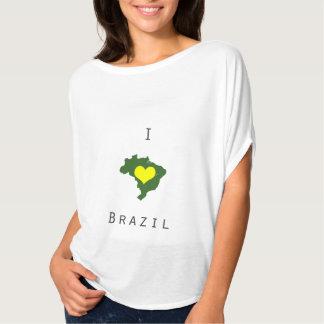 I love Brazil- World Cup Tshirt/Tee T-Shirt