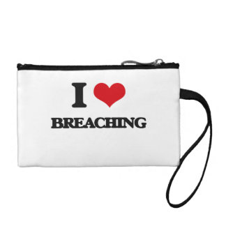 I Love Breaching Coin Wallet