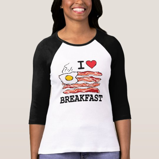 I Love Breakfast T-Shirt
