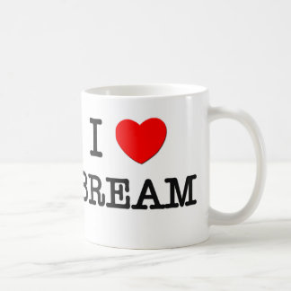 I Love BREAM ( food ) Coffee Mug