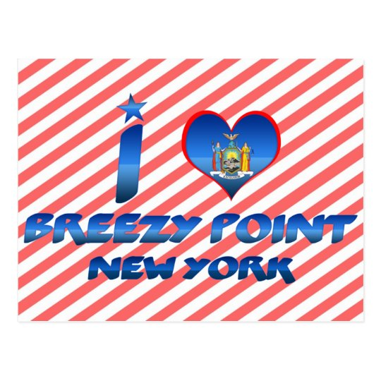 I love Breezy Point, New York Postcard