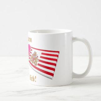 I Love Bremen ist mir lieb Coffee Mug