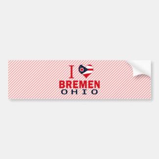 I love Bremen, Ohio Bumper Sticker