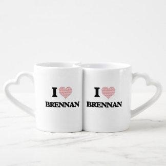 I Love Brennan Lovers Mug