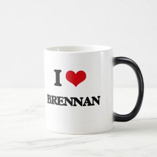 I Love Brennan Morphing Mug