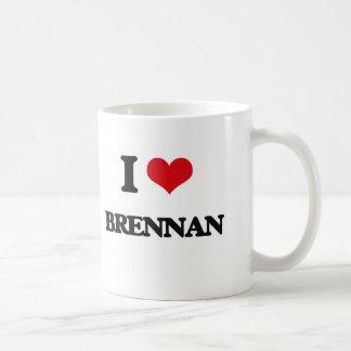 I Love Brennan Basic White Mug