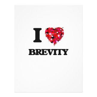 I Love Brevity 21.5 Cm X 28 Cm Flyer