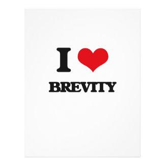 I Love Brevity Full Color Flyer