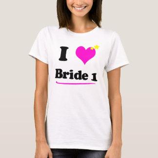 I Love Bride 1 Hanes Casual Comfort Tee