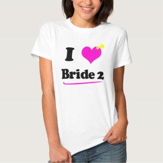 I Love Bride 2 Hanes Casual Comfort Tee