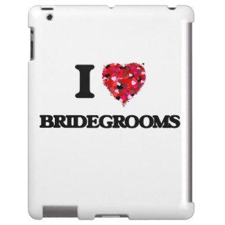 I Love Bridegrooms iPad Case
