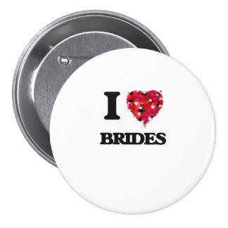 I Love Brides 7.5 Cm Round Badge