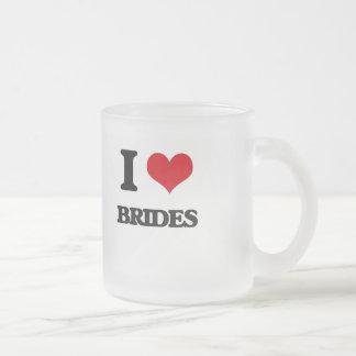I Love Brides Mugs