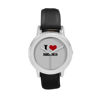 I Love Brides Wrist Watches
