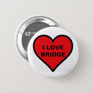 I LOVE BRIDGE BADGE