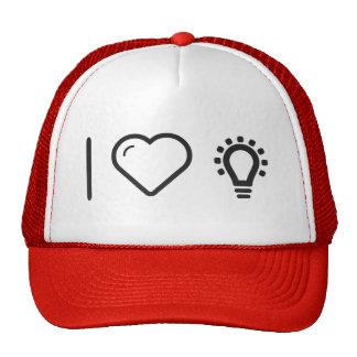 I Love Bright Lightbulbs Cap