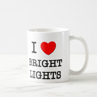 I Love Bright Lights Mug