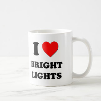 I Love Bright Lights Mugs