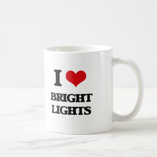 I Love Bright Lights Coffee Mug