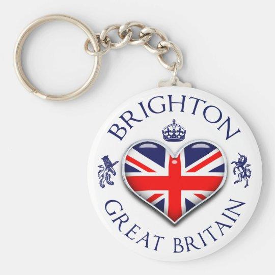 I Love Brighton Key Ring