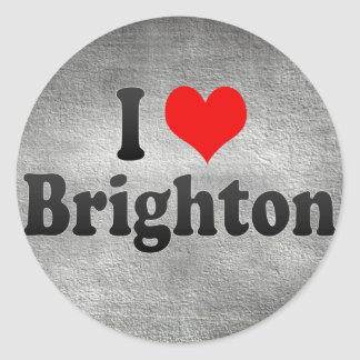 I Love Brighton, United Kingdom Sticker