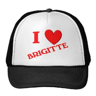 I Love Brigitte Trucker Hat