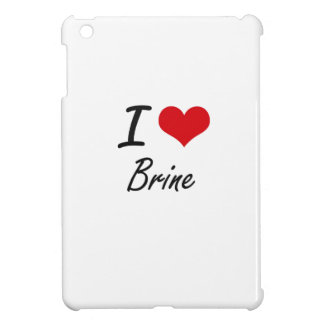 I Love Brine Artistic Design iPad Mini Cover