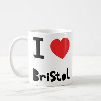 I love Bristol Coffee Mug