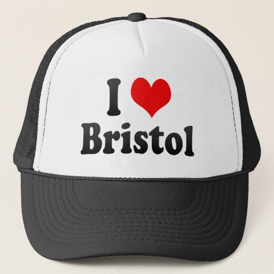 I Love Bristol, United Kingdom Trucker Hat