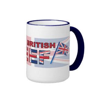I love British beef Ringer Mug