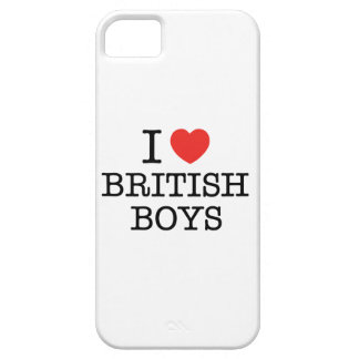 I Love British Boys Barely There iPhone 5 Case