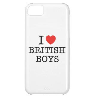 I Love British Boys iPhone 5C Case